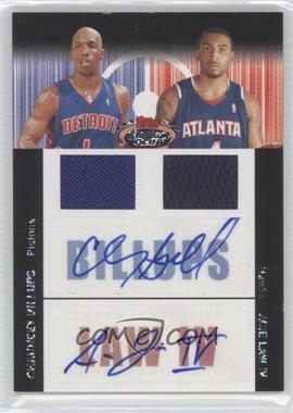 2007-08 Topps Stadium Club - Future/Foundation Dual Autograph Relics - [Autographed] #FFAR-BL - Chauncey Billups, Acie Law