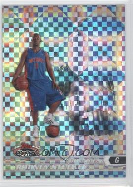 2007-08 Topps Stadium Club Chrome X-Fractor #115 - Rodney Stuckey /50