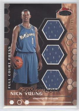 2007-08 Topps Stadium Club Full Court Press Relics Triple #FCPTR-NY - Nick Young /99