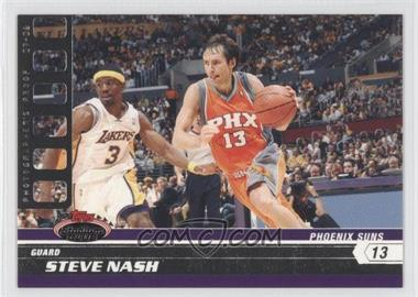 2007-08 Topps Stadium Club Photographer's Proof #13 - Steve Nash /199