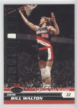 2007-08 Topps Stadium Club Photographer's Proof #86 - Bill Walton /199