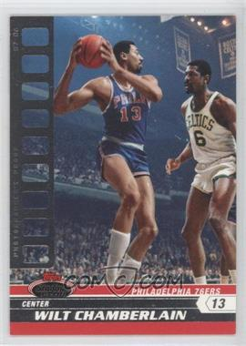 2007-08 Topps Stadium Club Photographer's Proof #87 - Wilt Chamberlain /199