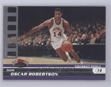 2007-08 Topps Stadium Club Platinum Photographer's Proof #96 - Oscar Robertson /1 [Near Mint]