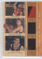 Greg Oden, Spencer Hawes, Jason Smith #92/99