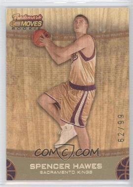 2007-08 Topps Trademark Moves Orange #67 - Spencer Hawes