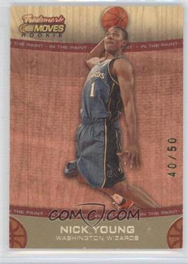 2007-08 Topps Trademark Moves Red #73 - Nick Young /50