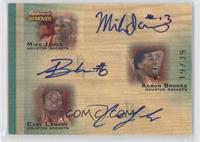 Mike James, Aaron Brooks, Carl Landry /39