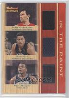 Jorge Garbajosa, Rudy Gay, Paul Millsap /50