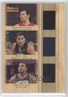 Jorge Garbajosa, Rudy Gay, Paul Millsap /199