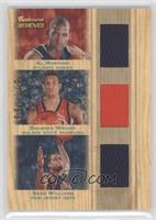 Bracey Wright, Sean Williams, Al Horford, Brandan Wright /199