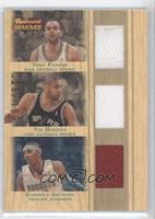 Tony Parker, Tim Duncan, Carmelo Anthony /199