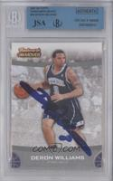 Deron Williams [BGS/JSA Certified Auto]