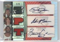 Ray Allen, Adam Morrison, Ben Gordon /9