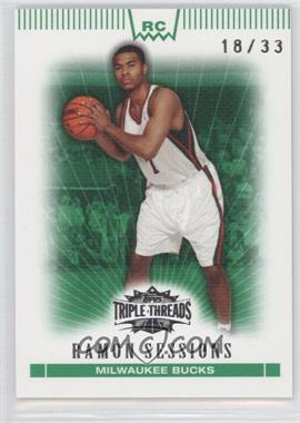 2007-08 Topps Triple Threads Emerald #123 - Ramon Sessions /33