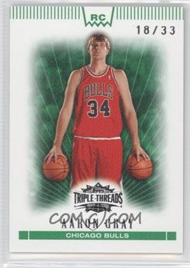2007-08 Topps Triple Threads Emerald #149 - Aaron Gray /33