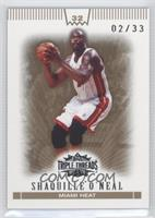 Shaquille O'Neal /33