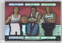 Brandon Roy, Chris Paul, Vince Carter /18