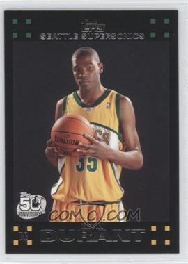 2007-08 Topps #112 - Kevin Durant
