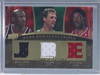 Michael Jordan, Larry Bird, Julius Erving /50