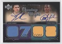 Mike Bibby, Chris Paul /25