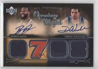 Baron Davis, Deron Williams /25