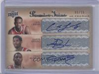 Carl Landry, Aaron Brooks, Tracy McGrady /15