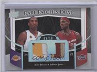 Kobe Bryant, Lebron James /10