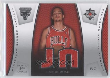 2007-08 Ultimate Collection - Ultimate Rookie Materials #ULTR-JN - Joakim Noah