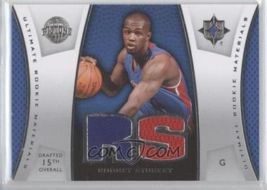 2007-08 Ultimate Collection - Ultimate Rookie Materials #ULTR-RS - Rodney Stuckey