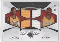 Jeff Green, Julian Wright /99