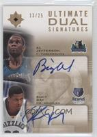 Al Jefferson, Rudy Gay /25