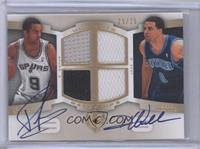 Tony Parker, Deron Williams /25