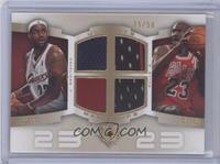 Lebron James, Michael Jordan /50