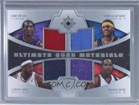 Kobe Bryant, Carmelo Anthony, LeBron James, Michael Redd /25