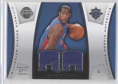 2007-08 Ultimate Collection Ultimate Rookie Materials #ULTR-AA - Arron Afflalo