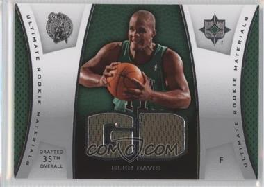 2007-08 Ultimate Collection Ultimate Rookie Materials #ULTR-GD - Glen Davis