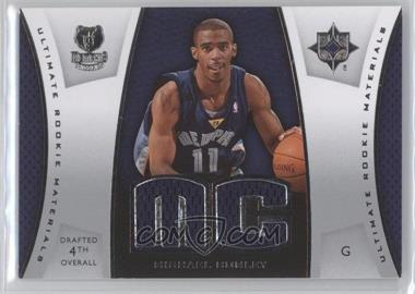 2007-08 Ultimate Collection Ultimate Rookie Materials #ULTR-MC - Michael Conley