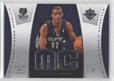 2007-08 Ultimate Collection Ultimate Rookie Materials #ULTR-MC - Mike Conley