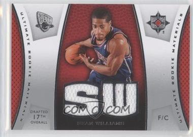 2007-08 Ultimate Collection Ultimate Rookie Materials #ULTR-SW - Sean Williams