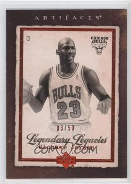 2007-08 Upper Deck Artifacts - [Base] - Red #186 - Michael Jordan /50