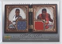 Antawn Jamison, Marvin Williams /150