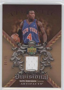 2007-08 Upper Deck Artifacts Divisional Artifacts Copper #DA-NR - Nate Robinson /25