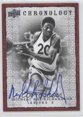 2007-08 Upper Deck Chronology Autographs [Autographed] #70 - [Missing]