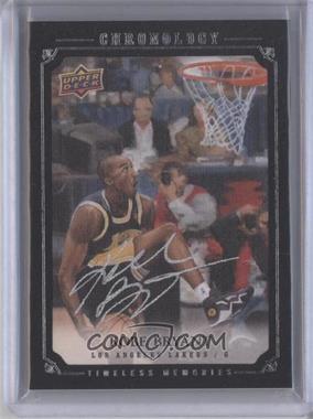 2007-08 Upper Deck Chronology #134 - Kobe Bryant /99