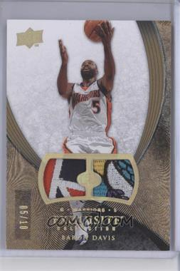 2007-08 Upper Deck Exquisite Collection Patches #39 - Baron Davis /10