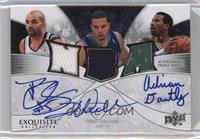 Deron Williams, Carlos Boozer, Adrian Dantley /3