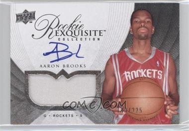 2007-08 Upper Deck Exquisite Collection #64 - Aaron Brooks /225