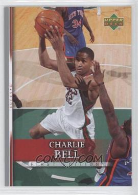 2007-08 Upper Deck First Edition - [Base] #137 - Charlie Bell