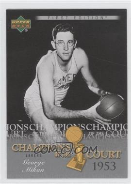 2007-08 Upper Deck First Edition - Champions of the Court #CC-GM - George Mikan