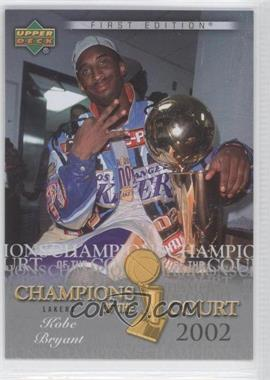 2007-08 Upper Deck First Edition - Champions of the Court #CC-KB - Kobe Bryant
